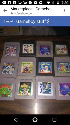 Game boy games $25 for Sale in Providence, RI