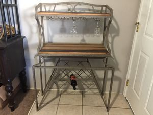 Wine rack /bakers rack or whatever you want it for for Sale in Seattle, WA