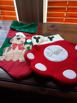 2 dog and 2 cat stockings for Sale in Millsboro, DE