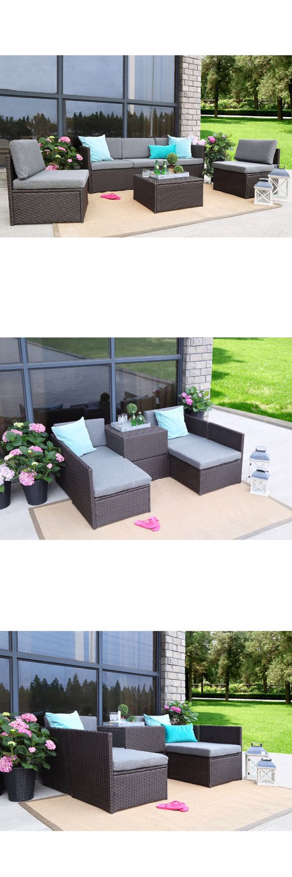 Azure Sky ASK16CH 4 Pieces Outdoor Furniture Complete ...