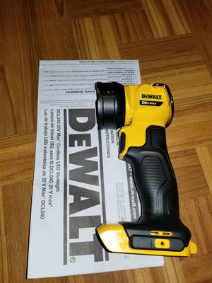 Dewalt Led Light 20V for Sale in Norwalk, CA