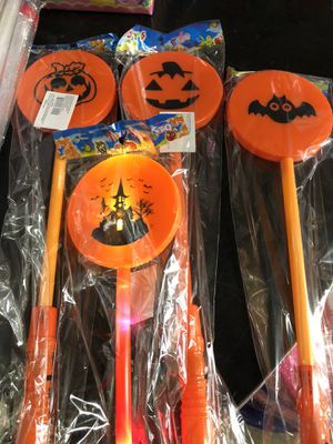Halloween light up wands $1 each for Sale in Lakewood, CA
