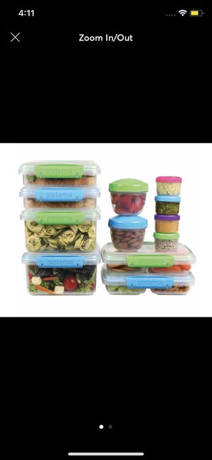 Sistema 28-piece Food Storage Set for Sale in Silver Spring, MD