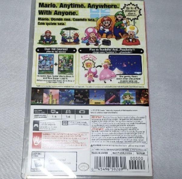 Mario Bros U Deluxe Nintendo Switch Game