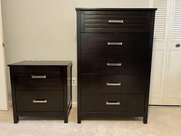 Dresser and night table set