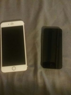 Rose Gold IPhone 6s plus and a Black/Silver IPhone 5 for Sale in Washington, DC