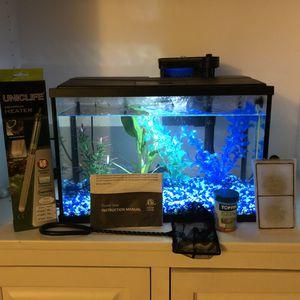 Top Fin 5 gallon fish tank set for Sale in Nashville, TN