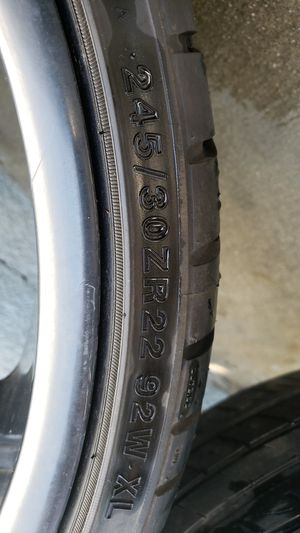 2 crave rims 22... 425$ OBO... Serious people only thanks. for Sale in Compton, CA