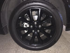 Dodge rims and tires for Sale in Clackamas, OR