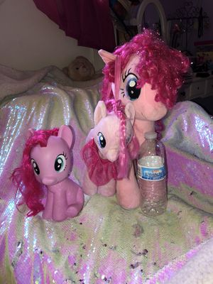 3 My little pony for Sale in Rancho Cucamonga, CA