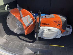 """Stihl concrete saw 14"""" for Sale in Orlando, FL"""