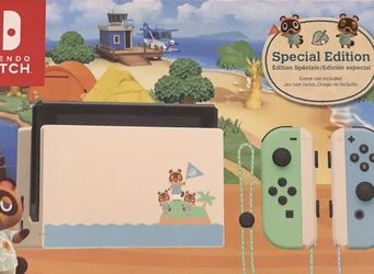 Nintendo Switch Console Animal Crossing Special Edition v2 32GB. Brand New. for Sale in Portland,  OR