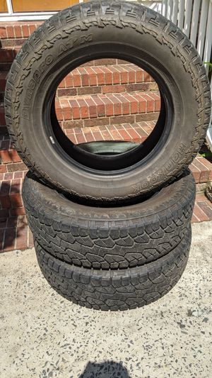"""3x Hankook Dynapro ATM All Terrain 255/70/r18 >32"""" Tall Tires Set 75% Tread for Sale in Charlotte, NC"""