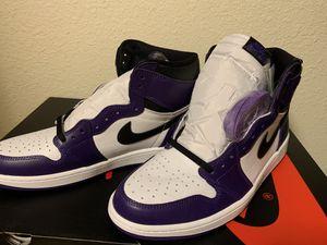 Jordan 1 Court Purple 2.0 for Sale in Everett, WA