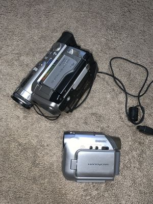 Sony & Sharp Camcorder for Sale in Pittsboro, NC