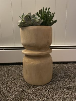 Wood Planter - Plant Pot Holder for Sale in Whitman, MA