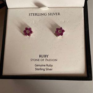 Ruby Earrings for Sale in New Port Richey, FL
