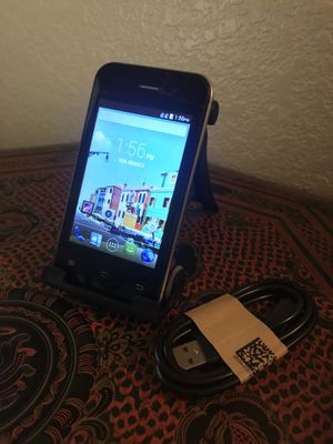 ZTE Maven 3 AT&T GSM UNLOCKED 8GB Android Smartphone Charger Like