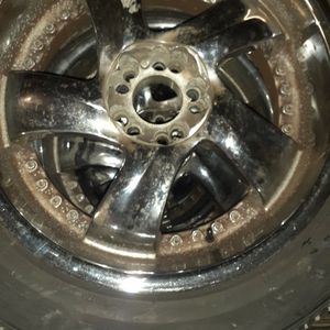 4 rims with tires for Sale in Port St. Lucie, FL