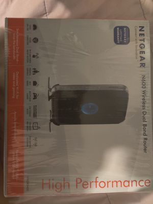 Netgear dual band router for Sale in Los Angeles, CA