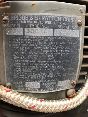 Briggs & Stratton motor for Sale in Point Pleasant, NJ