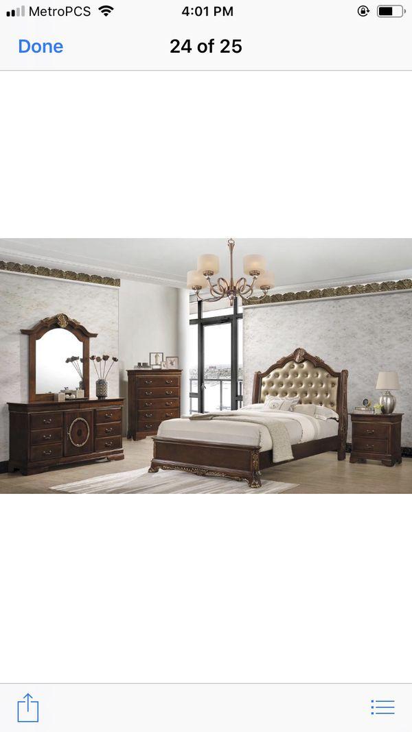 Brand new queen size bedroom set $1299