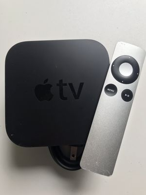 Apple TV with remote and power cord for Sale in Sharon, MA