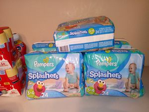 Pampers splashers Swim diapers for Sale in Hutto, TX