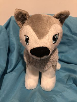 Husky plush portable North Pole doll stuffed animal plushie toy for Sale in Phoenix, AZ