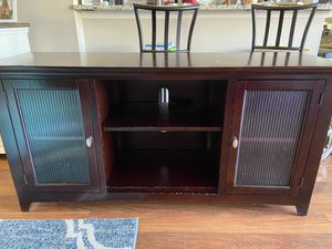 Cherry Brown Entertainment Center for Sale in Tampa, FL