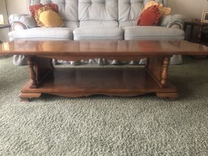 Coffee Table Carleton Colonial Maple by Sprague for Sale in Lakewood, CA