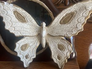 Wood butterfly decoration for Sale in Lake Elsinore, CA