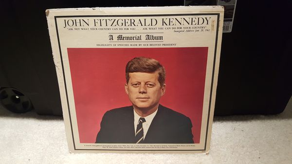 JFK : A Memorial Album (vinyl)