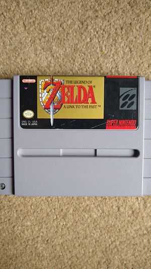 The Legend of Zelda Link to the Past Super Nintendo (SNES) Authentic for Sale in Lynnwood, WA