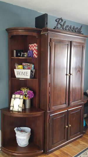 Entertainment system/bookcase for Sale in Harker Heights, TX