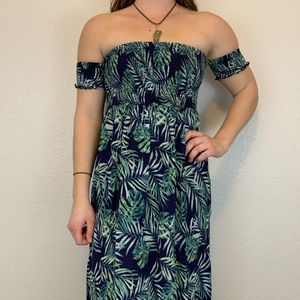 Free People Leaf Print maxi dress for Sale in North Las Vegas, NV