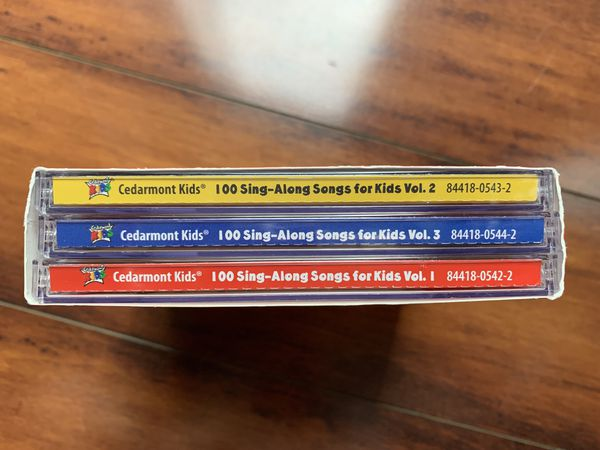 CDs; Music for kids on 3 CDSs