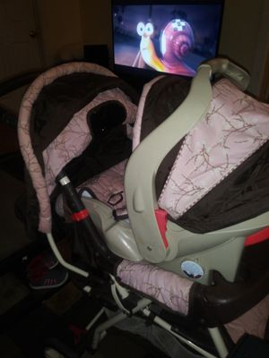 Stroller and car seat for Sale in Albany, NY