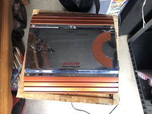 POWER BANK MONO AMPLIFIER for Sale in Woodburn, OR