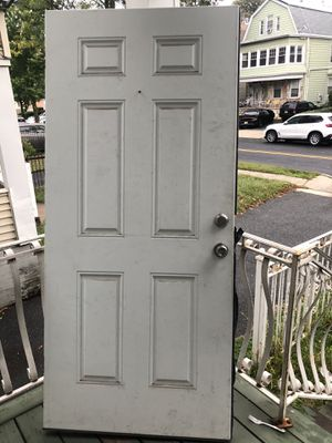 Exterior steel door 36x80 for Sale in East Orange, NJ