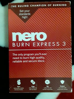 Nero Burn Express 3 for Sale in Houston, TX