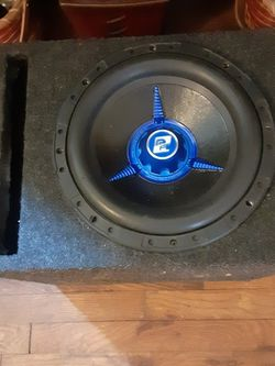 10in DVC 4ohm Power Acoustic Sub W/box for Sale in Columbus,  OH