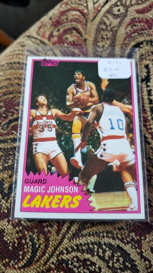 1981-82 Topps Basketball for Sale in Gold Hill, OR