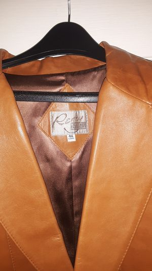Men's leather jacket Remy 46 long for Sale in Lakeside, AZ