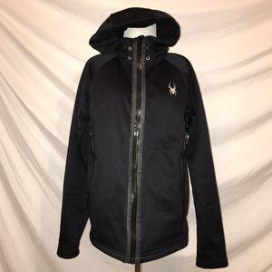Spyder black fleece hoody for Sale in Pittsburgh, PA