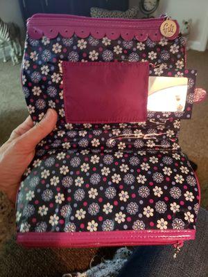 3d2a3e6df1 Vera Bradley makeup bag w mirror. 9x6. Like new for Sale in Murfreesboro