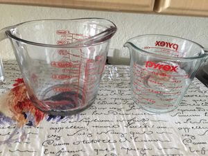 Pyrex Measure Bowls for Sale in Tampa, FL