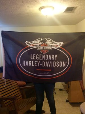 Harley Davidson 3x5 ft banner 15.00firm for Sale in Jacksonville, FL