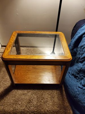 End table glass top for Sale in Monroe, WA