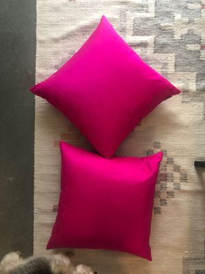 2 pink 18x18 pillows for Sale in Austin, TX